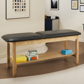 "Treatment Table with Shelf 30"" Wide ETA Classic Series"