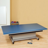 Hi-Lo Mat Platform 4' Wide Electric Height Upholstered Top