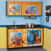 Pediatric Exam Room Cabinets School House