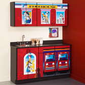 Pediatric Exam Room Firehouse Cabinets