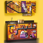 Pediatric Exam Room Alley Cats and Dogs Cabinets