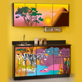 Pediatric Exam Room Cabinets Serengeti