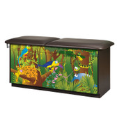 Pediatric Exam Rainforest Follies Treatment Table