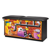Pediatric Exam Table with Flat Top Alley Cats and Dogs