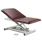 "Bariatric Power Table Open Base Extra Wide 34"" Adjustable Backrest"