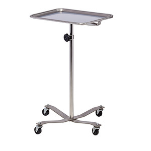Mobile Instrument Stand Stainless Steel Base