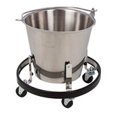 Kick Bucket and Frame Stainless Steel