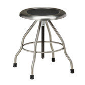 Stool Stainless Steel Seat Screw Height Adjustment