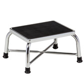 Bariatric Step Stool Chrome