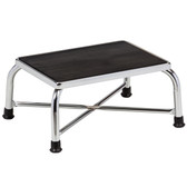 Bariatric Step Stool with Large Top Chrome
