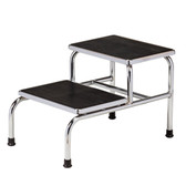 Clinton Two-Step Step Stool Chrome T-6842