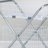 "Clinton 12"" Wire Basket TB-212"