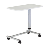 Over Bed Table U-Base Gray