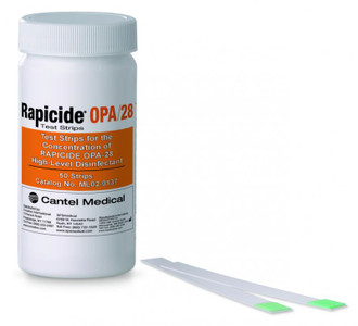 Rapicide OPA/28 High-Level Disinfectant Test Strips