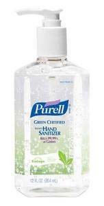 Purell Advanced Green Certified Instant Hand Sanitizer Bottle