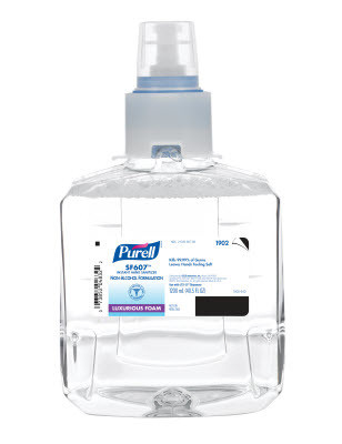 Purell SF607 Instant Non-Alcohol Hand Sanitizer Foam Dispenser Refill