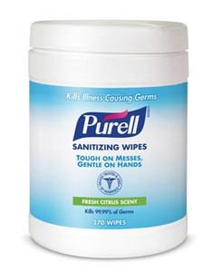 Purell Hand Sanitizer Wipes-Canister