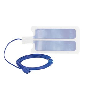 Bovie Disposable Grounding Pads Split Adult Return Electrodes with Cable ESREC