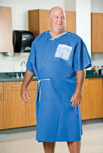 Graham Medical AmpleWear Large Patient Exam Gown