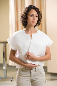Graham Medical Patient Exam Capes Tissue/Poly/Tissue