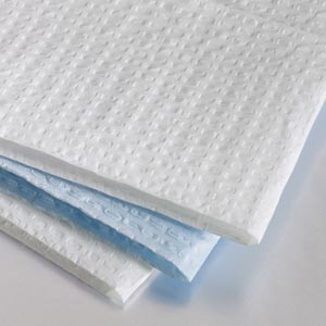 "Graham Medical Disposable Towels 2-Ply Tissue 13.5""x18"""