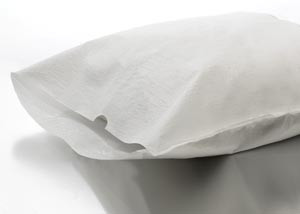 "Graham Medical Disposable Pillowcases Tissue/Poly 21""x30"""