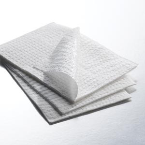 "Graham Medical Disposable Towels 2-Ply Tissue/Poly 13.5""x18"""