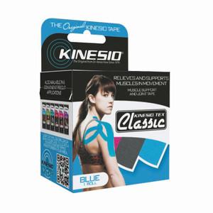 "Kinesio Tape Tex Classic 2"" x 34 Yards Blue Bulk"