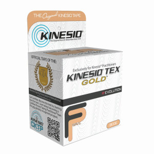 "Kinesio Tape Tex Gold FP 3"" x 5.5 Yards Beige"