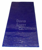 """Surgical Table Gel Pad 3/4 Length 1/2"""" Thick Blue Diamond Gel"""