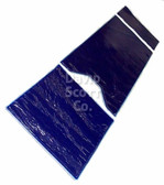 Surigcal Table Gel Pad Set 3 Pieces with Square Foot Section Blue Diamond Gel