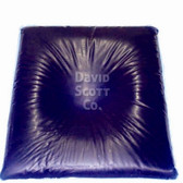 Blue Diamond Gel Head Pillow with Centering Dish