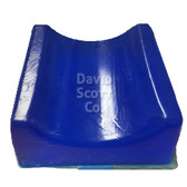 David Scott Gel Contoured Head Pad Blue Diamond Gel BD2190