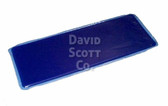 Gel Arm Board Pad Long Contoured Cradle Blue Diamond