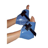 Gel Clam shell Heel-Elbow Protector Blue Diamond Gel