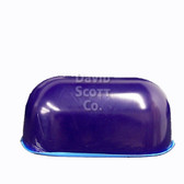 "Gel Positioner Chest Roll with Flat Bottom 12""x7""x6"" Blue Diamond Gel"