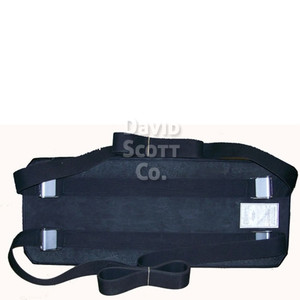Bariatric Patient Restraint Strap with Mid-Panel