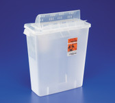 Covidien SharpSafety In-Room Sharps Containers with Always-Open Lid