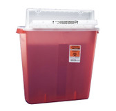Covidien SharpStar In-Room Sharps Container Counter Balanced Lid 4 Gal 8541SA