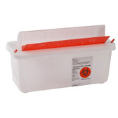 Covidien SharpSafety In-Room Sharps Containers with Mailbox Lid