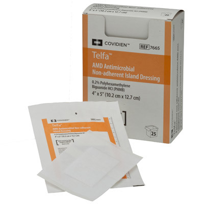 Covidien Telfa AMD Antimicrobial Non-Adherent Pads