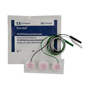 Covidien Neonatal Cloth ECG Electrodes Radiolucent Small 31424743
