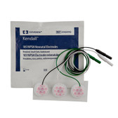 Covidien 1051NPSM  Neonatal Cloth ECG Electrodes Radiolucent Small 31424743