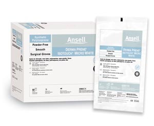 Ansell GAMMEX PI Micro White Surgical Gloves