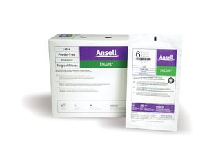 Ansell Encore Latex Sterile Surgical Gloves