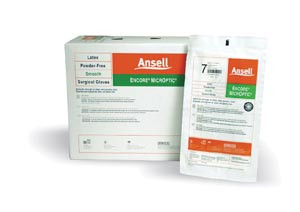 Ansell Encore MicrOptic Latex Surgical Gloves