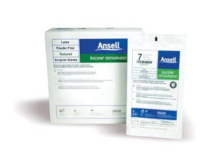Ansell Encore Orthopaedic Latex Surgical Gloves