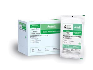 Ansell IsoTouch Synthetic Surgical Gloves