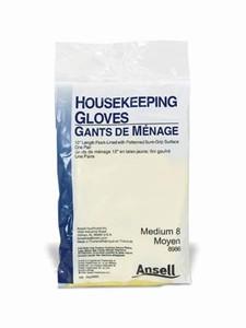 Ansell Housekeeping Latex Gloves Powder-Free