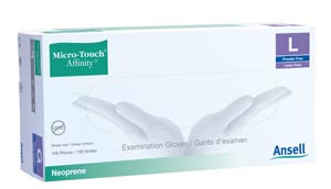Ansell Micro-Touch Affinity Neoprene Exam Gloves Latex-Free